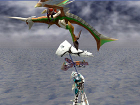 The Empire attempts to tow the Guardian Dragon back to the Empire.