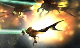 Abadd's dragonmare blows the other dragonmares out of the sky.