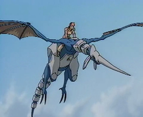 The Blue Dragon in the Original Video Animation.