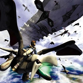 Lagi and Lundi attack Shelcoof at the end of Panzer Dragoon Zwei.