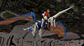 Lagi and Edge's Dragon merge...
