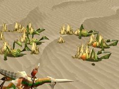 A group of sand mites from Panzer Dragoon Saga.