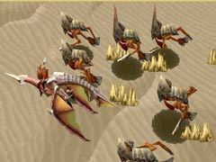 A pack of stryders from Panzer Dragoon Saga.