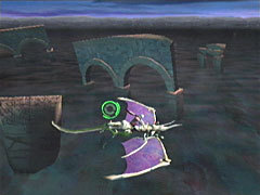The episode 5 ruins in Panzer Dragoon Orta.
