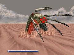 A baltor from the original Panzer Dragoon.