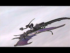 Azel as a dragon rider in Panzer Dragoon Orta.