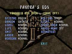 Pandra's Box in Panzer Dragoon Zwei.
