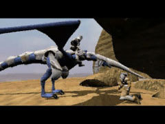 The Blue Dragon in Panzer Dragoon.