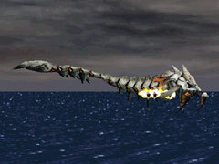 The enhanced Dark Dragon in Panzer Dragoon.