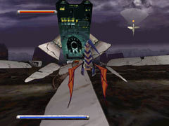 The episode 3 boss in Panzer Dragoon.