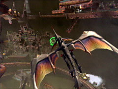 The Panzer Wing in Panzer Dragoon Orta.