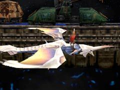The Panzer Wing in Panzer Dragoon Saga.