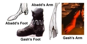 A comparison of Gash and Abadd.