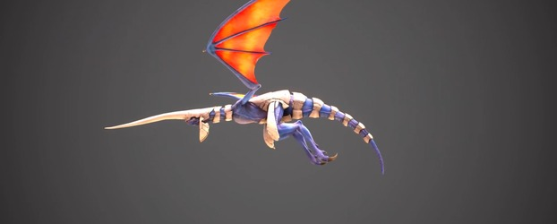 New Panzer Dragoon: Remake Video Shows the In-Game Dragon Model