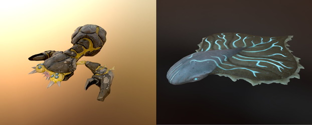 The Art of Panzer Dragoon: Remake - Part 6 Unveils Episode 2 Enemy Concept Art and 3D Models