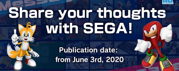 SEGA Asks Fans to Share Their Thoughts With Them on Their 60th Anniversary Website!