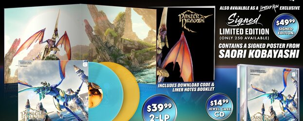 Panzer Dragoon: Remake Soundtrack Confirmed by Limited Run Games