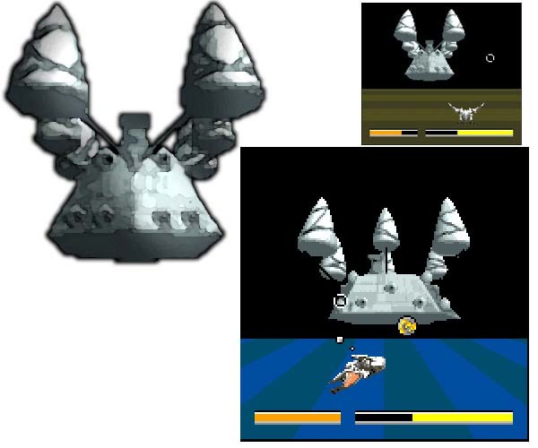 Panzer Dragoon Mini Space Battleship Screenshots