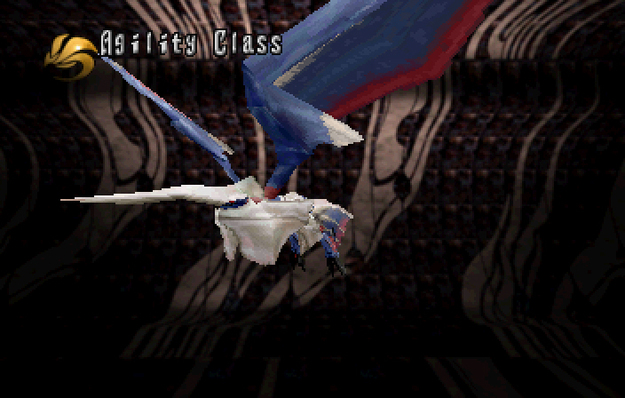 Panzer Dragoon Saga Data on Defeated Enemies Solo Wing Agility Class Screenshot