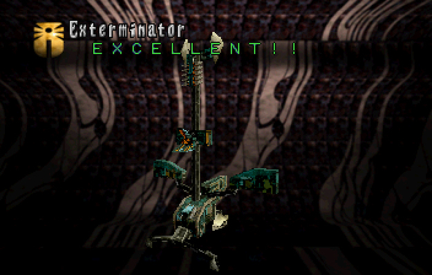 Panzer Dragoon Saga Data on Defeated Enemies Exterminator Screenshot