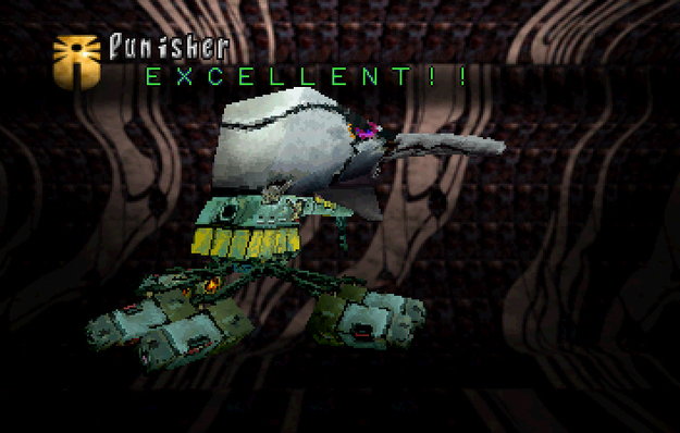 Panzer Dragoon Saga Data on Defeated Enemies Punisher (Imperial Forces) Screenshot
