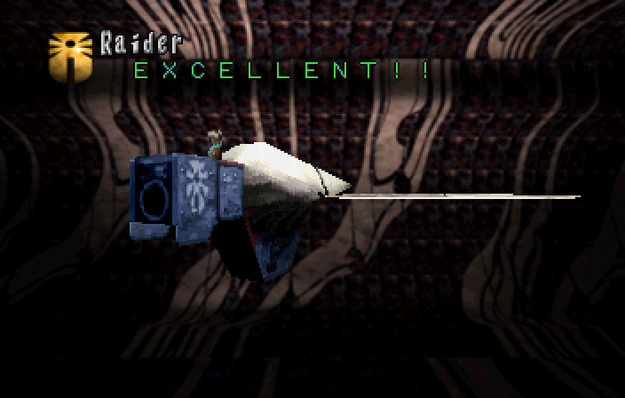 Panzer Dragoon Saga Data on Defeated Enemies Raider Screenshot