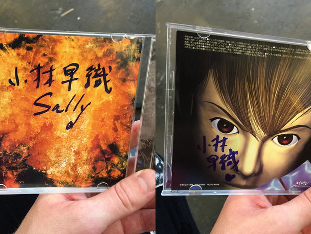 Albums Signed by Saori Kobayashi at Japan Expo 2015