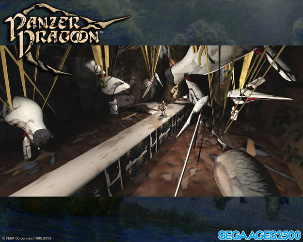 Sega Ages 2500 Series Vol. 27: Panzer Dragoon Wallpaper