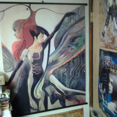 Panzer Dragoon Saga Azel Wall Scroll