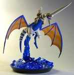 Another Blue Dragon and Rider Sculpture (3 of 5)