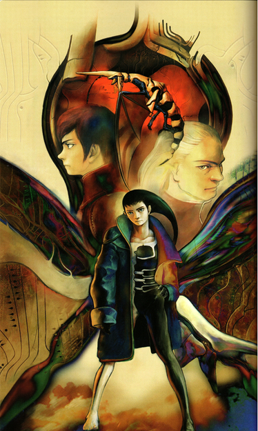 Panzer Dragoon Azel Novel Art