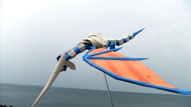 Blue Dragon Papercraft (3 of 6)