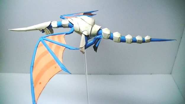 Blue Dragon Papercraft (4 of 6)