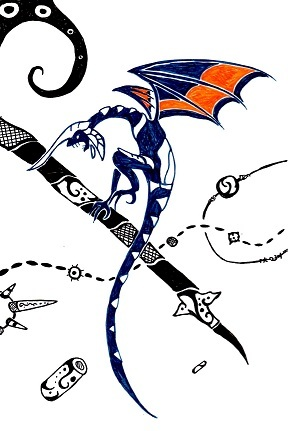 Panzer Dragoon Tribal Tattoo 01