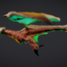 Basic Wing 3D Sculpt Side View