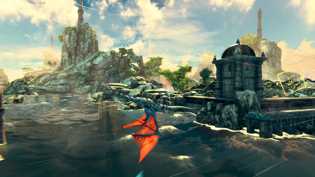 Panzer Dragoon: Remake Pre-Release Screenshot