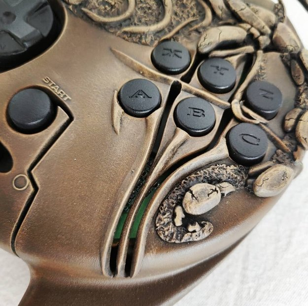Panzer Dragoon Modded Saturn 3D Controller (2 of 4)