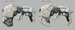 Panzer Dragoon: Remake Kyle and Gun Concept Art