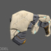 Panzer Dragoon: Remake Gun 3D Model