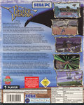 Panzer Dragoon PC Conversion (1996 European Release) Outer Sleeve Back