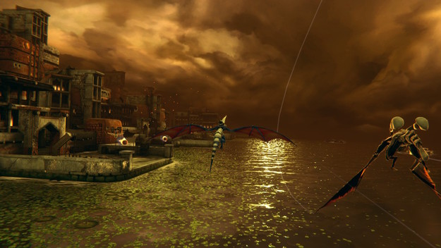 Panzer Dragoon: Remake Episode 6 Screenshot