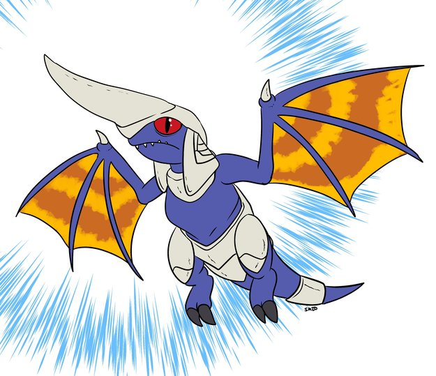 Blue Dragon From Panzer Dragoon Mini