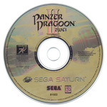 Panzer Dragoon II Zwei NTSC Version Disc