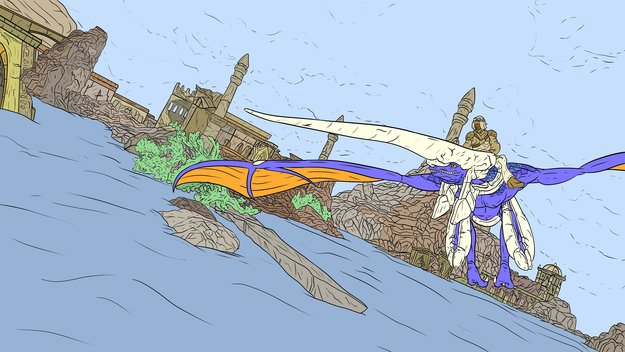 Panzer Dragoon: Remake Episode 1 Fan Art