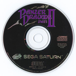 Panzer Dragoon II Zwei PAL Version Disc