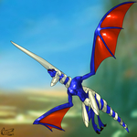 Blue Dragon Fan Art