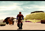 Panzer Dragoon Saga Caravan Screenshot