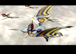 Panzer Dragoon Saga Imperial Air Force Screenshot