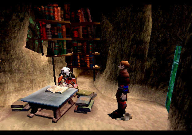 Panzer Dragoon Saga Seeker's Stronghold Screenshot