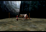 Panzer Dragoon Saga Campsite Screenshot